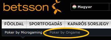 betsson ongame