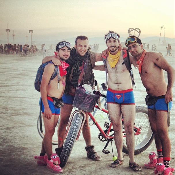 Esfandiari at Burning Man 2013 4