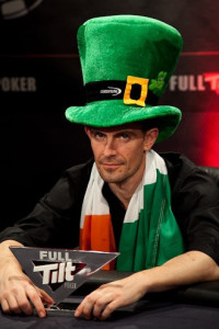 Gus 'The Great Dane' Hansen at the UKIPT Galway
