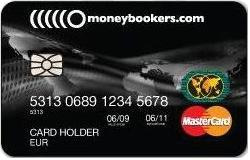 Moneybookers Master Card
